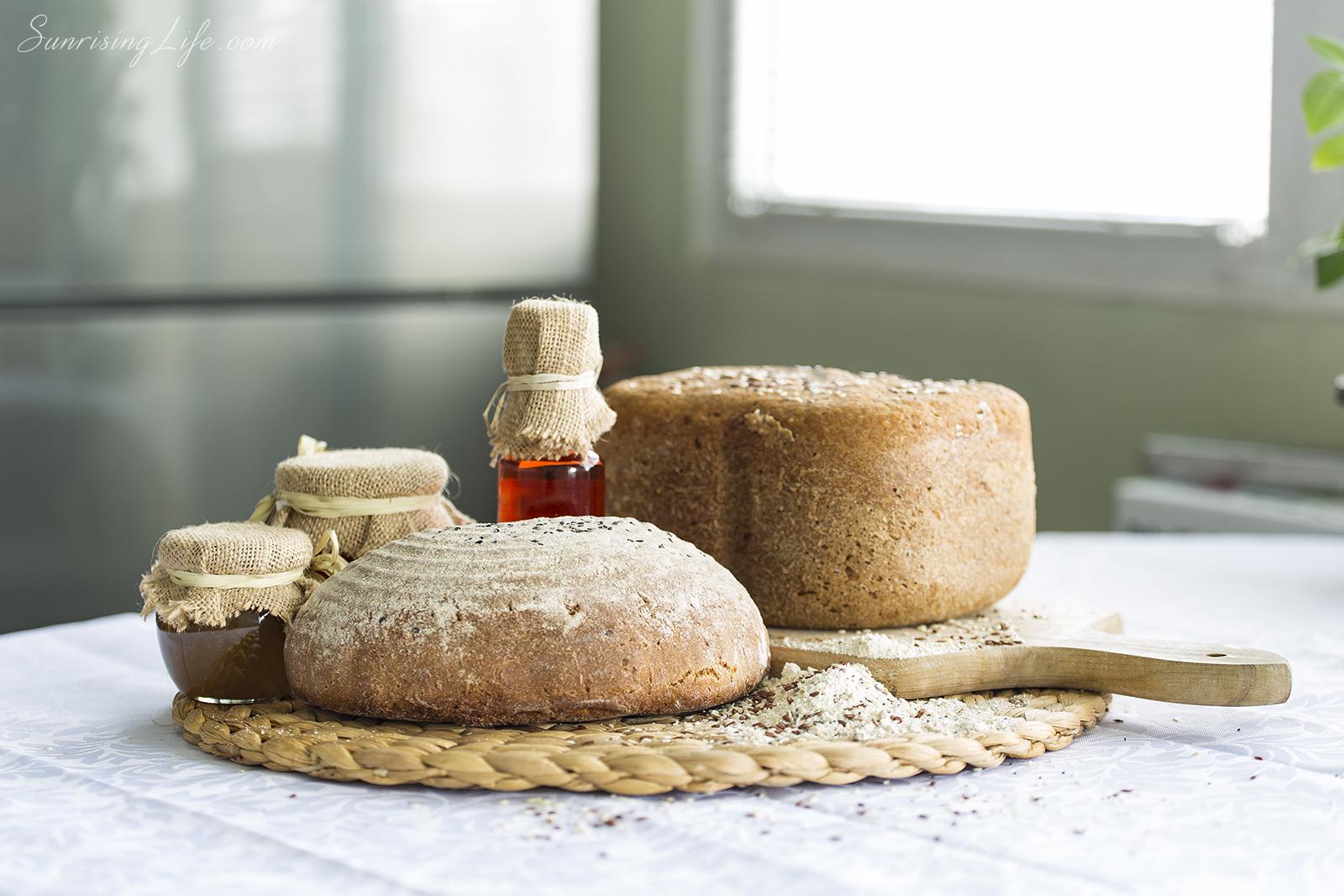 Eincorn bread