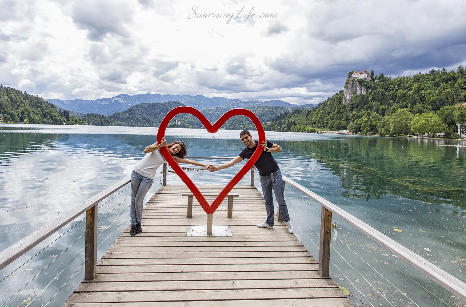 Любов на кея, Словения