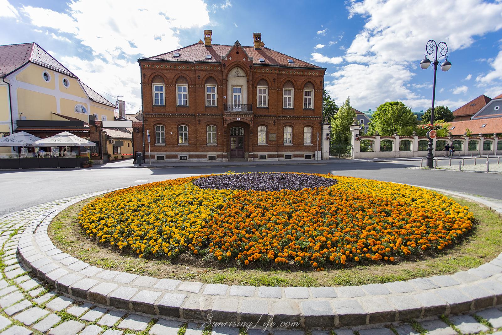 Градинка, Забележителности в Загреб