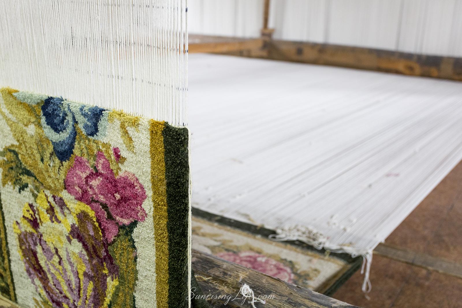 Стан за тъкане на килими, Цехът за килими в Костандово