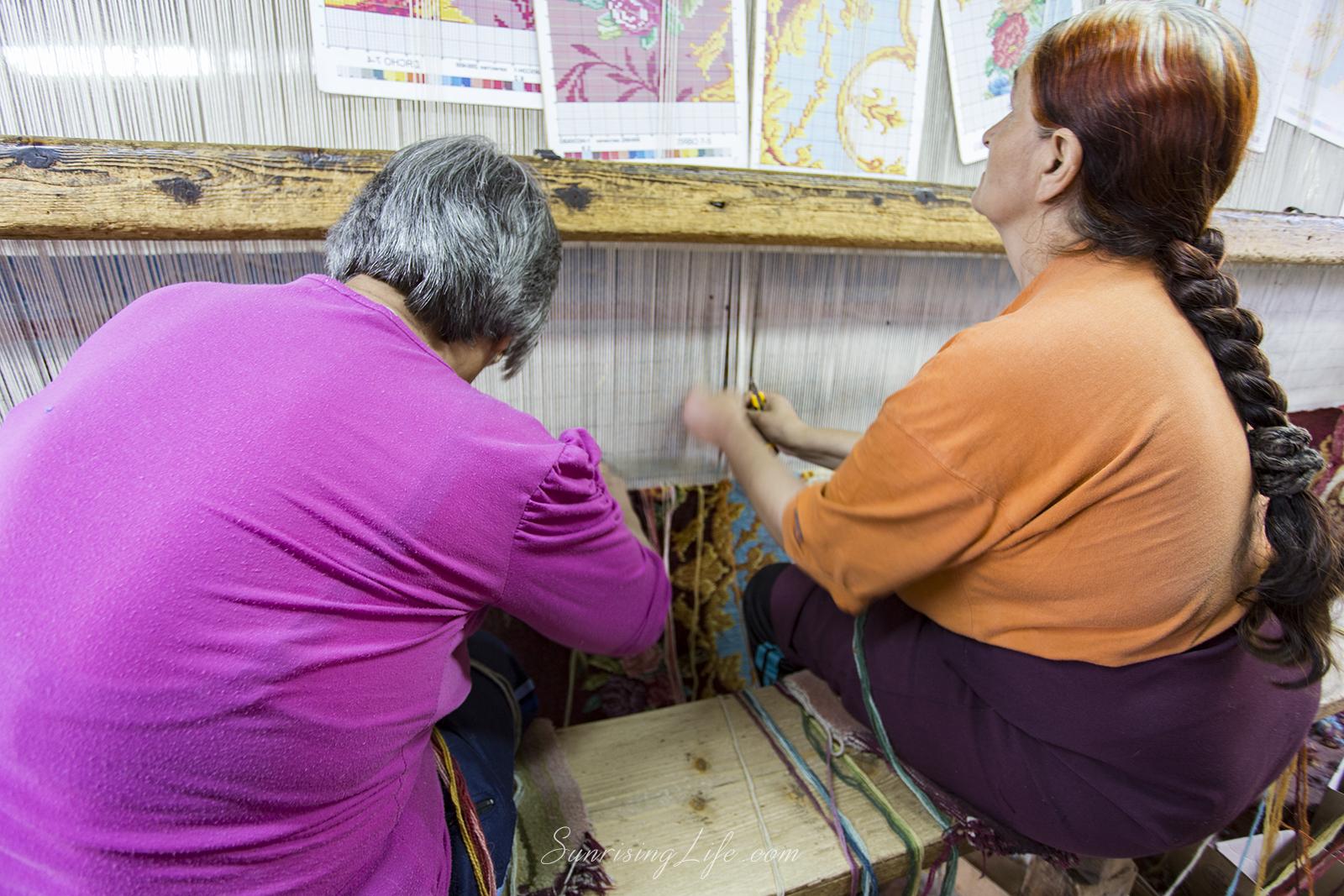 Тъкачки Цехът за килими в Костандово