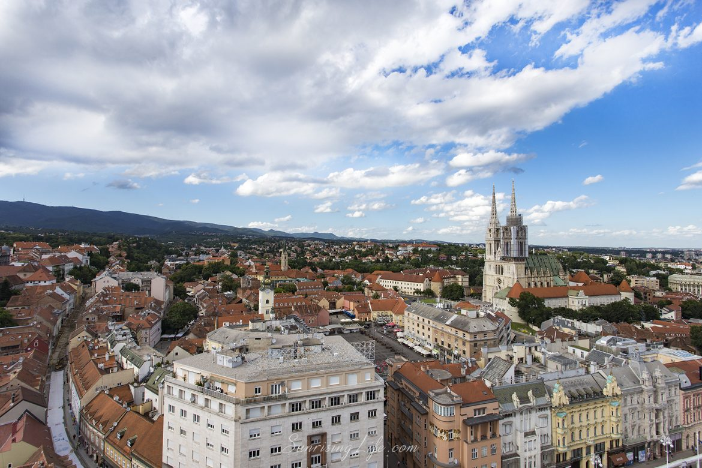 Загреб от високо