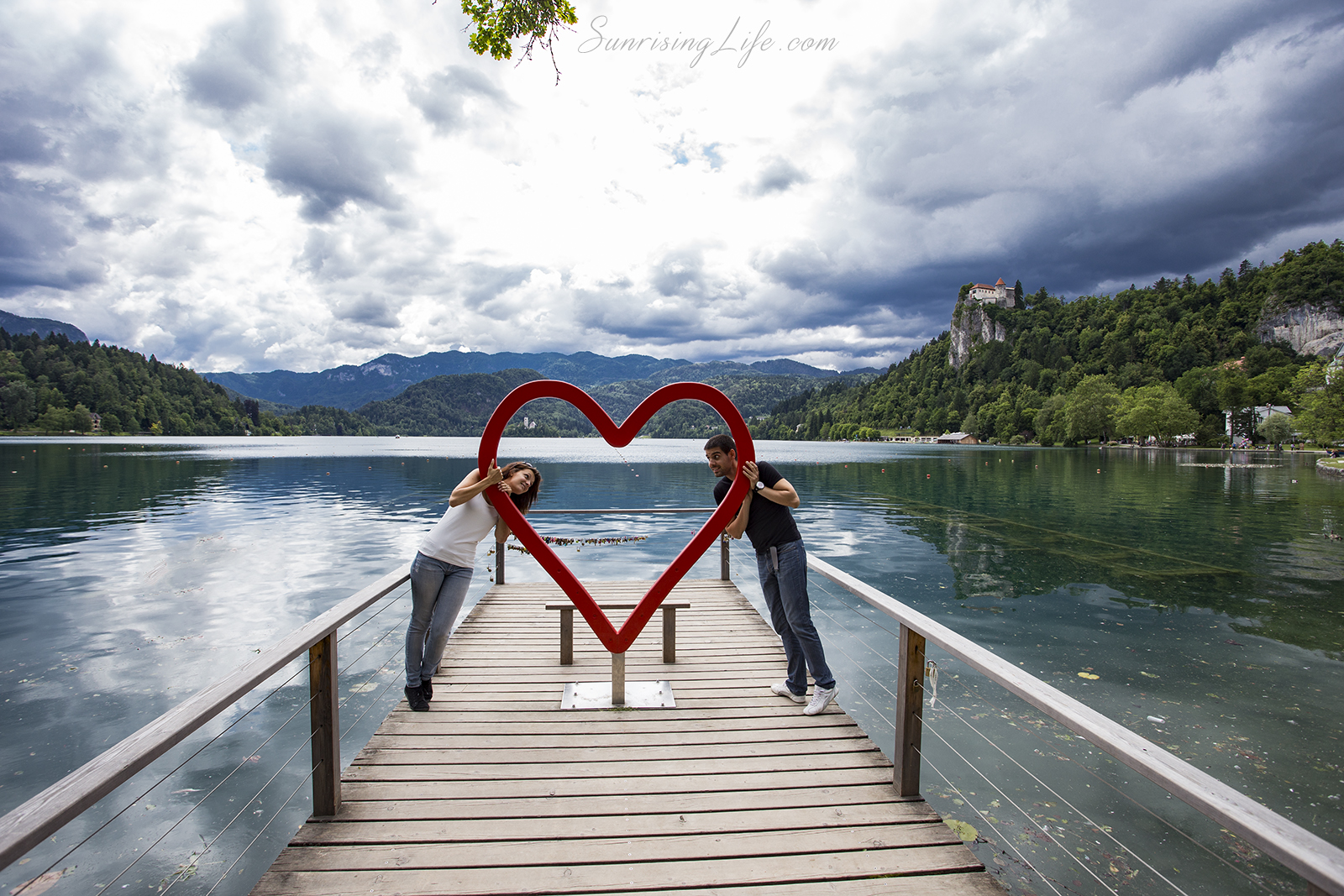 The heart on Bled