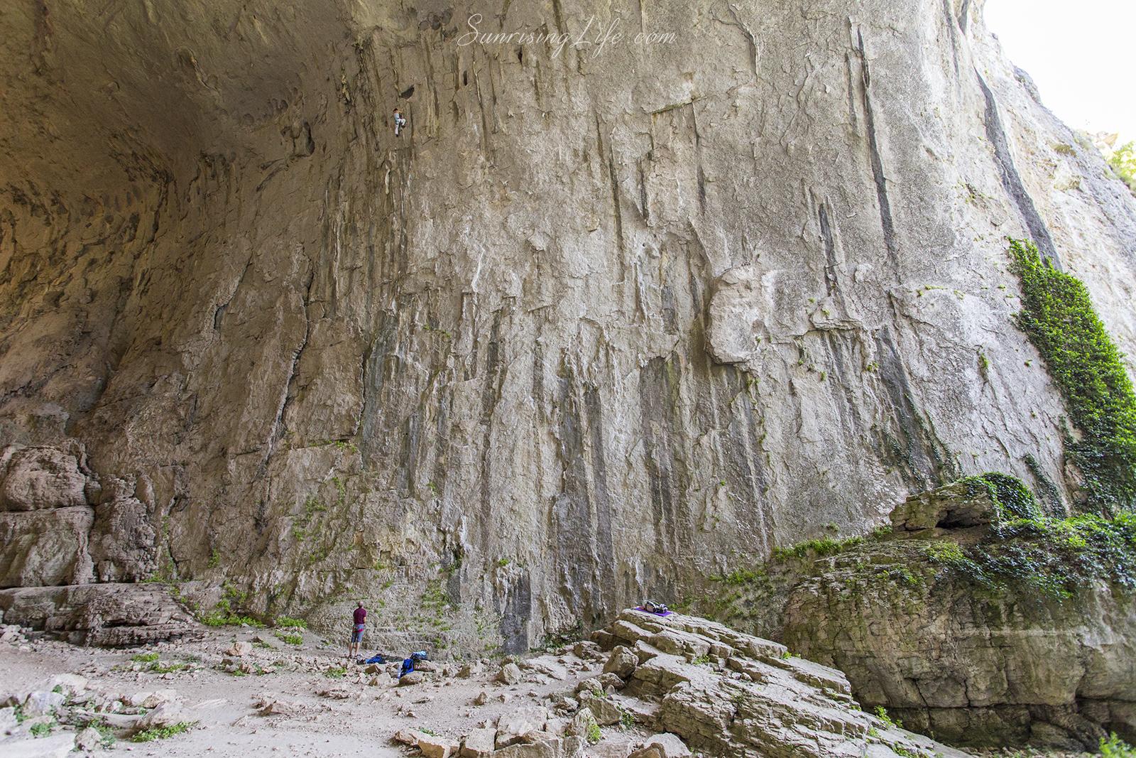 Пещера Проходна в другия й край
