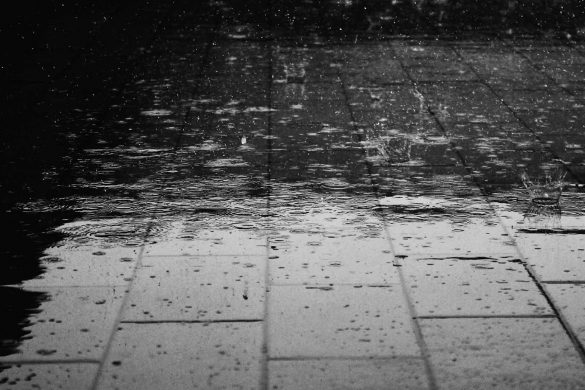 Дъжд се сипе изведро