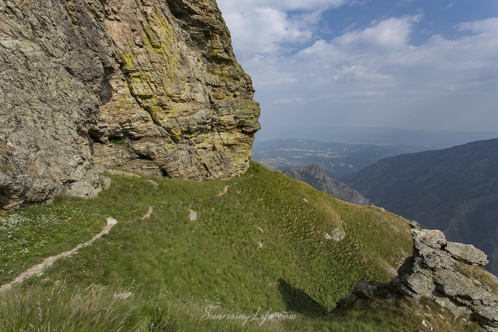 Тарзанова пътека гледки от Стара планина