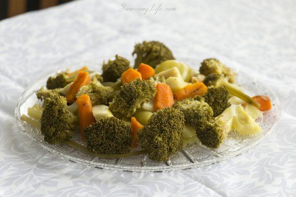 Зеленчуци на пара, супа с броколи
