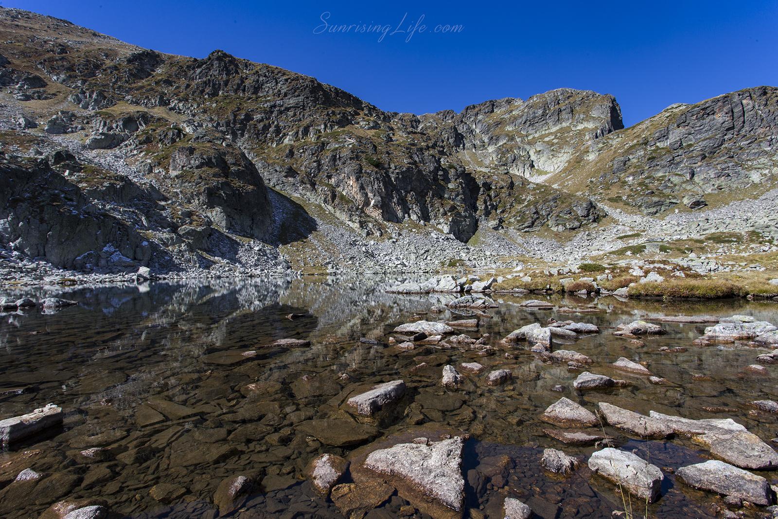 Еленино езеро по пътя към връх Мальовица