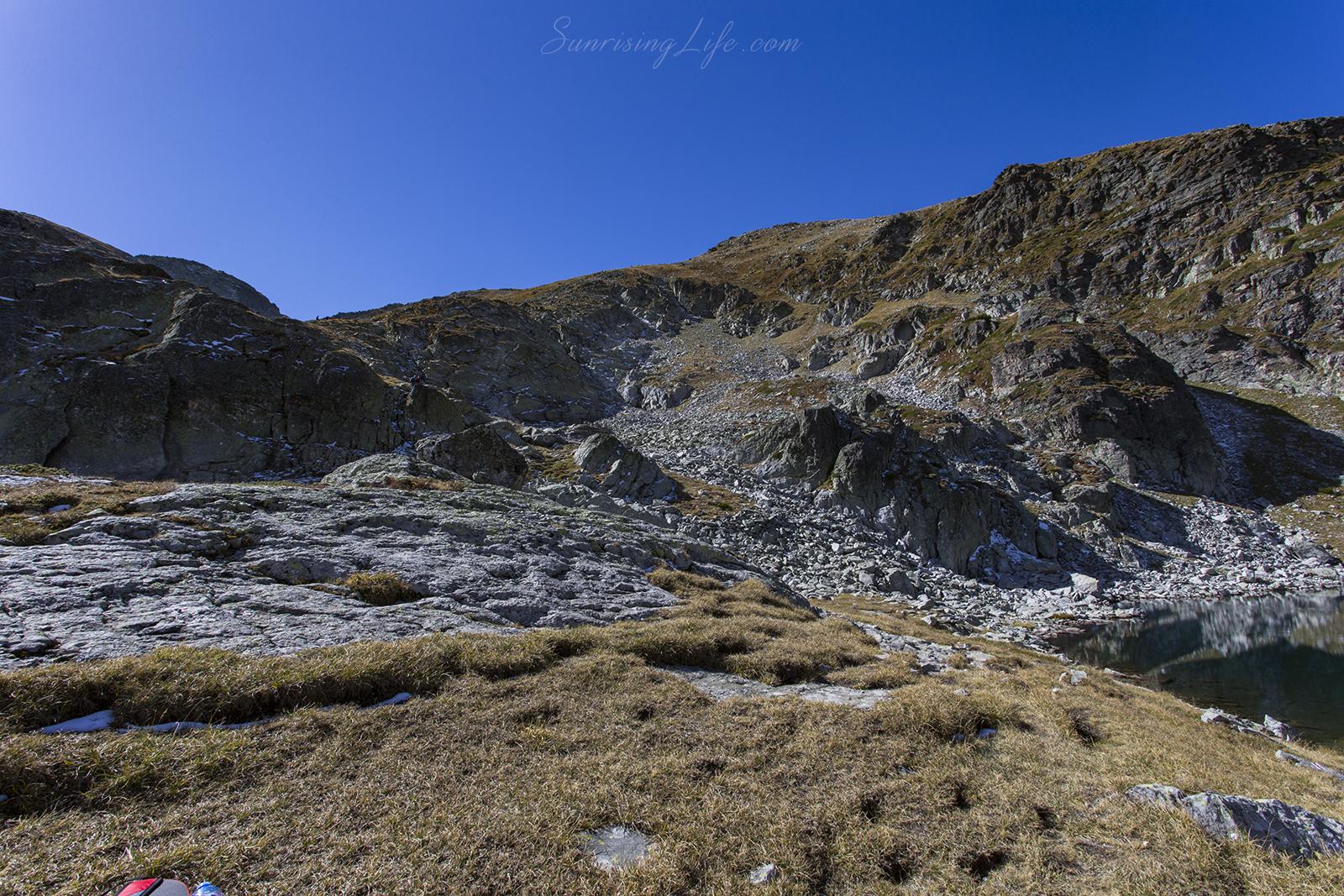 Преди връх Мальовица