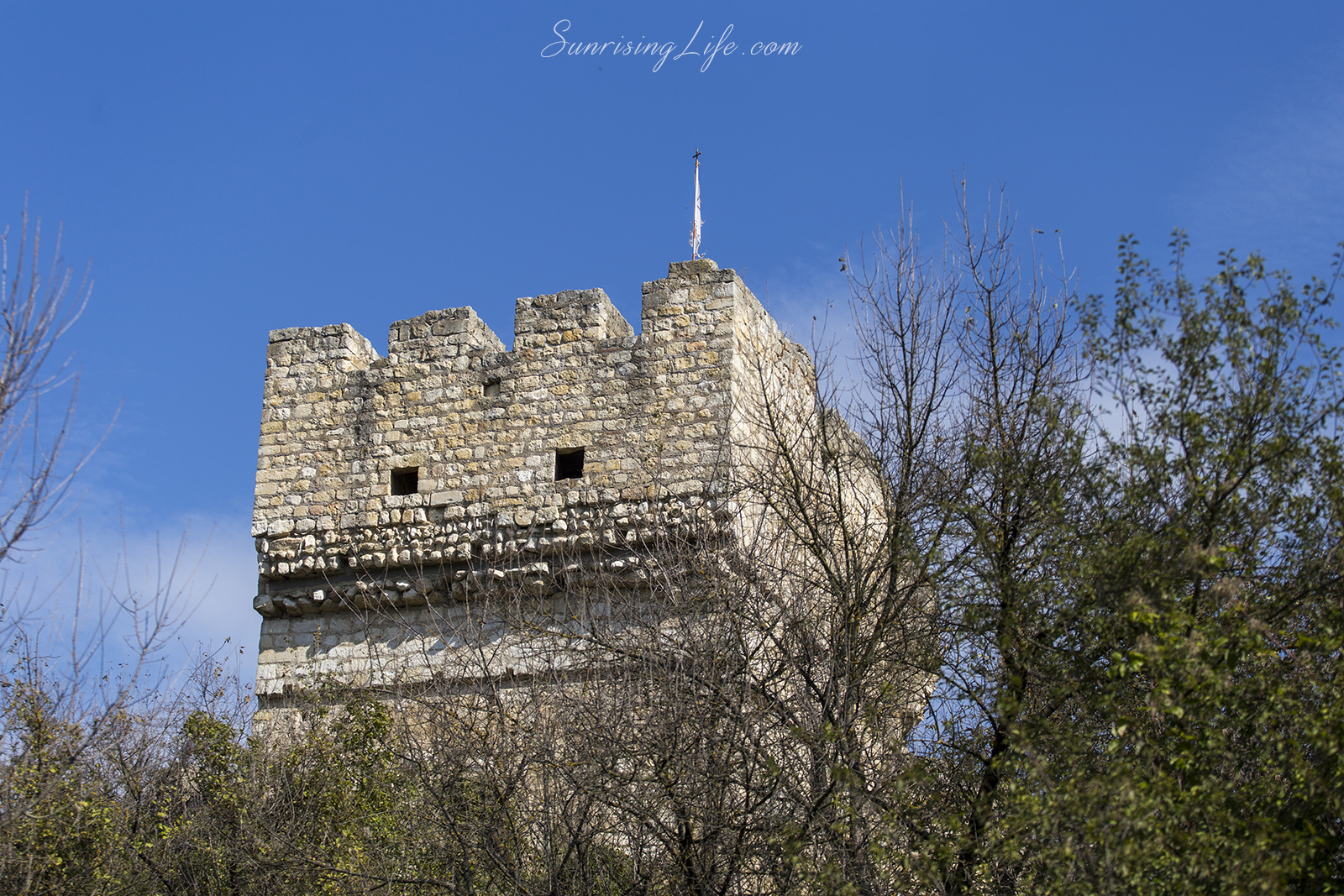 Бойната кула в средновековния град