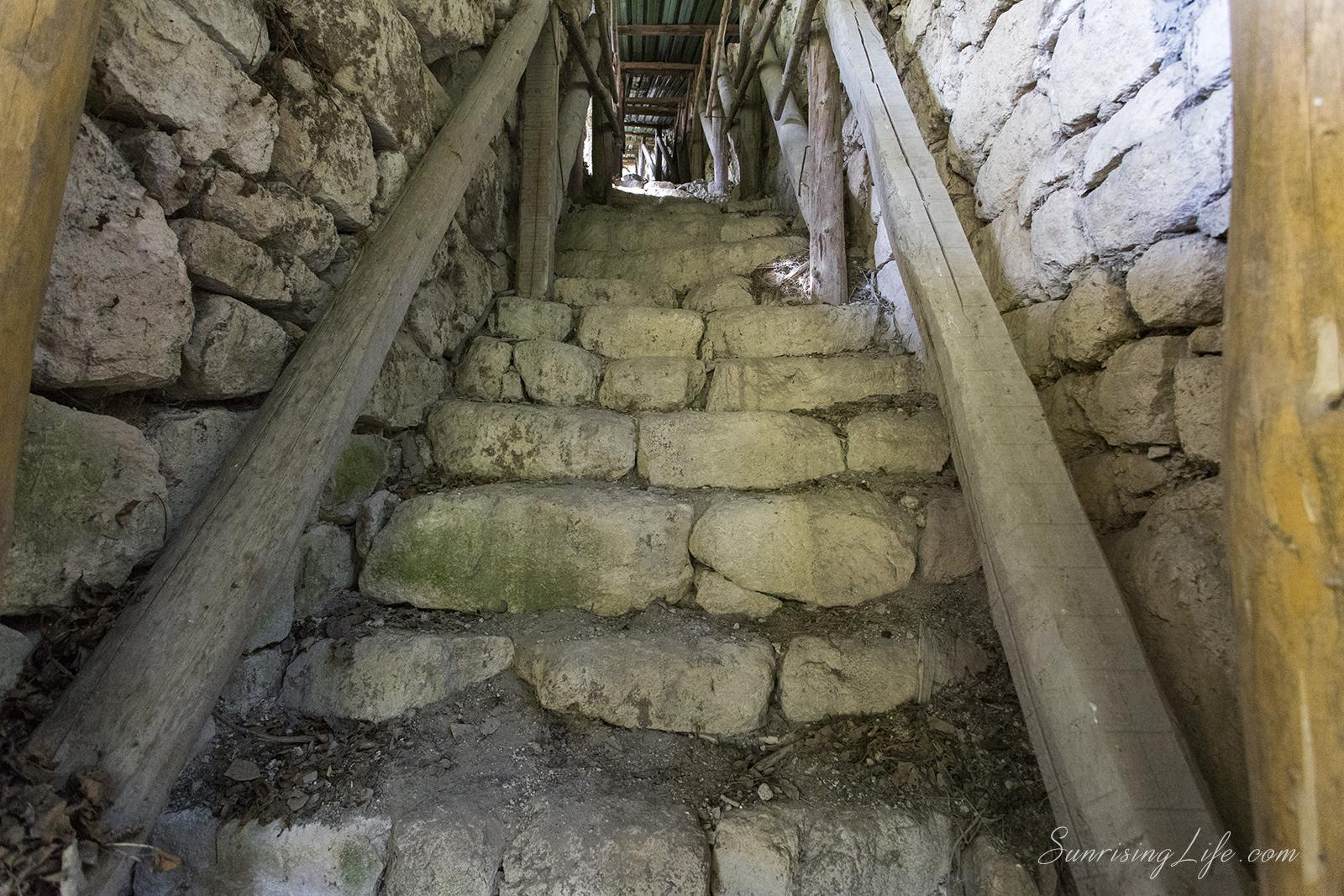 Водоснабдителен проход в град Червен