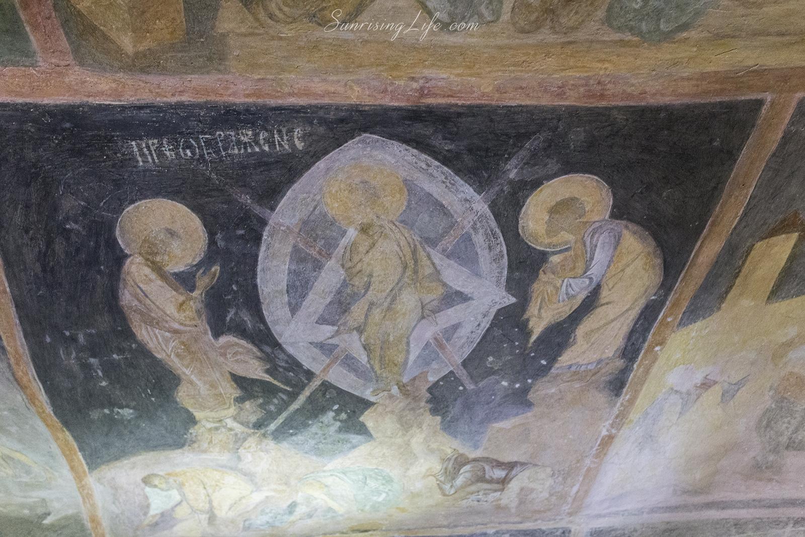 Стенописи в църквата