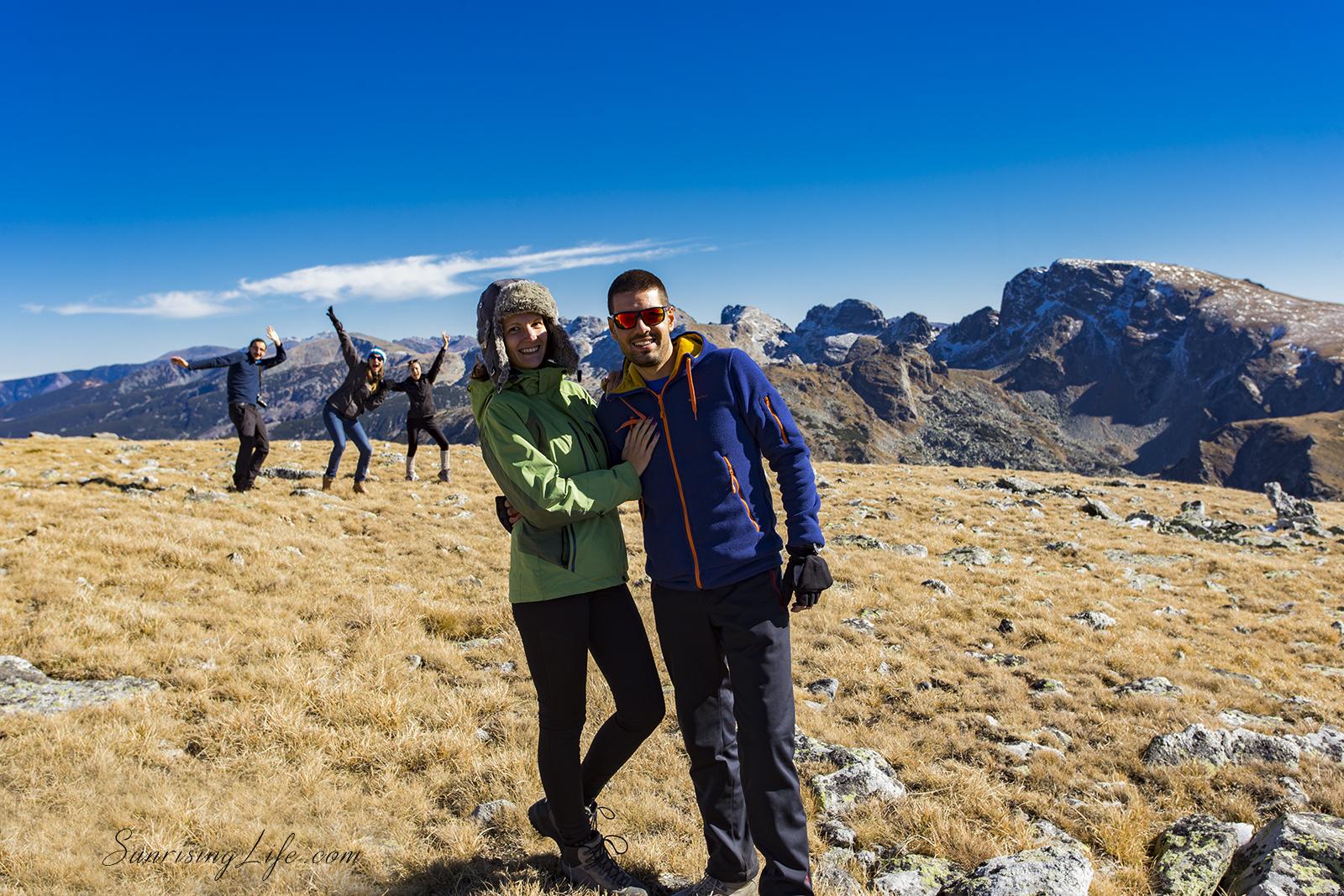 Усмивки към връх Мальовица