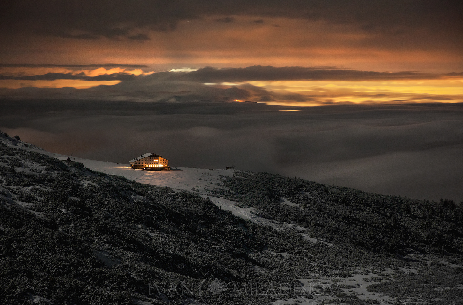The new hut of Rila lakes