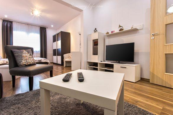 Интериорна фотография хол на апартамент