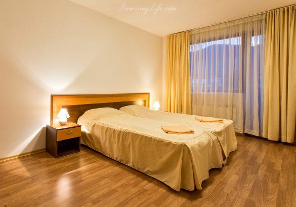 Хотелска спалня в хотел в Банско