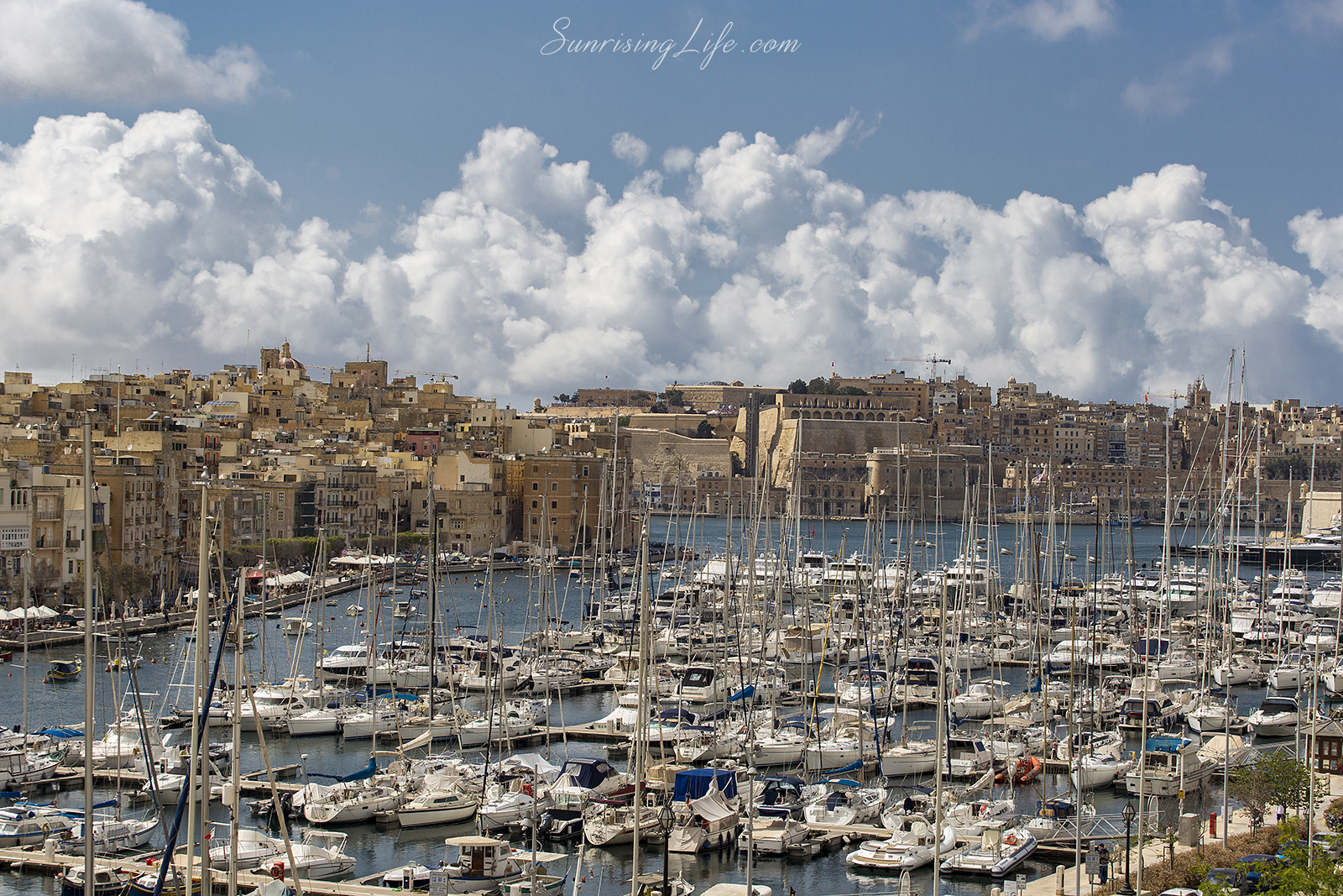Port in Malta