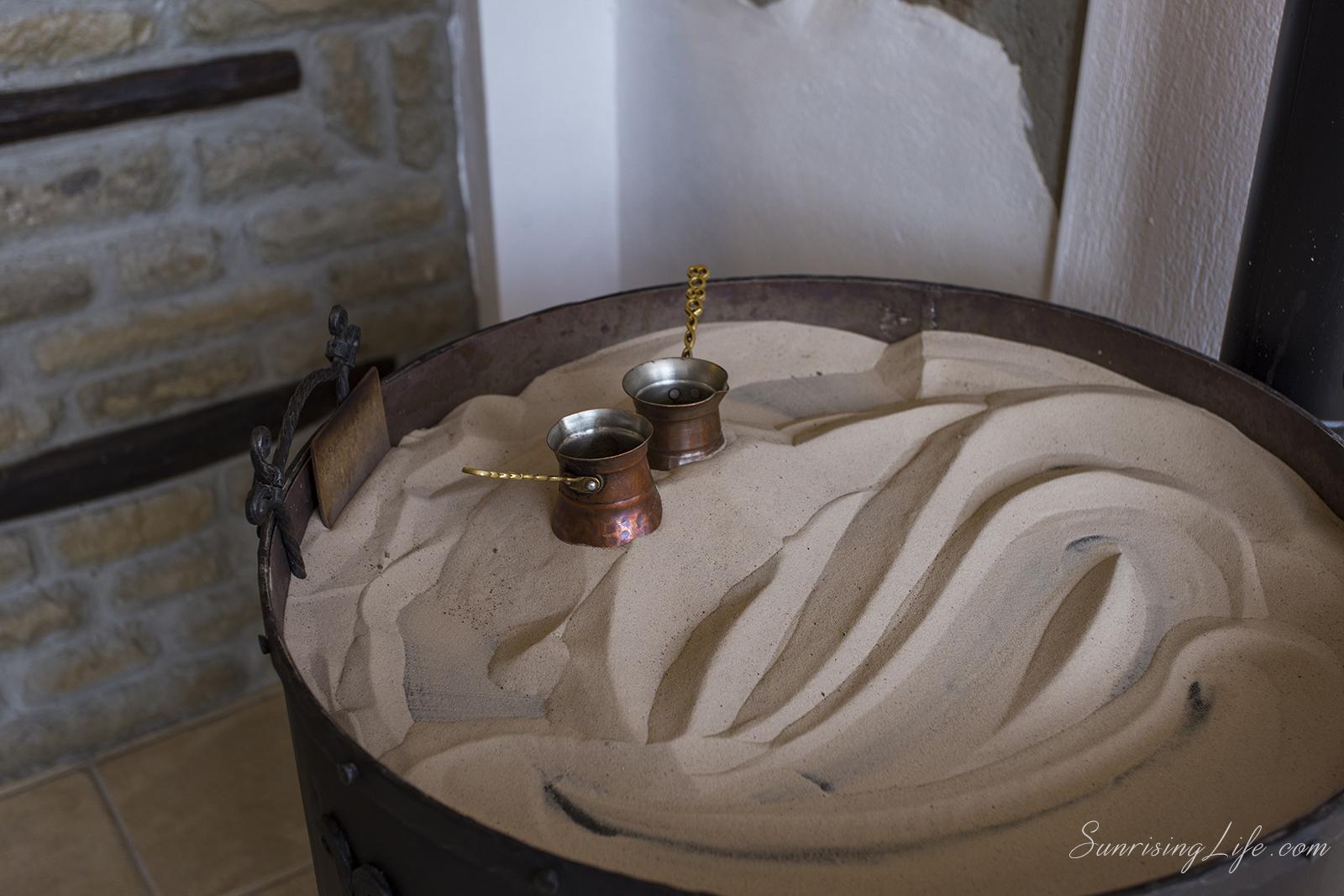 Кафе на пясък