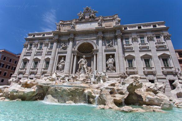 Забележителности в Рим - Фонтана ди Трвеи