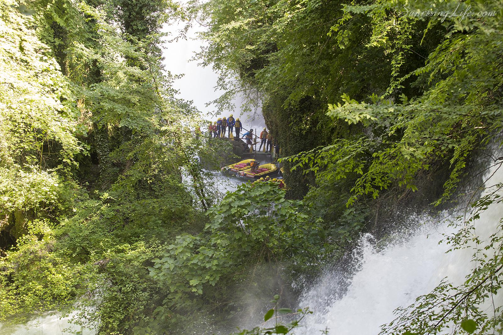 Рафтинг до водопад Марморе