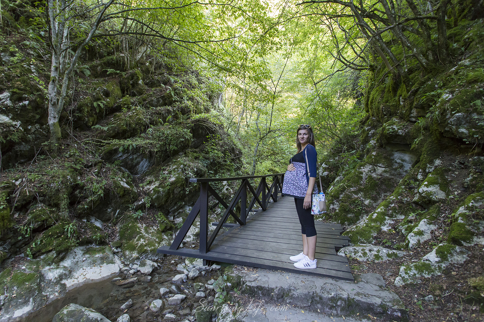 Екопътека Под пръските на водопада, Водопад Скока