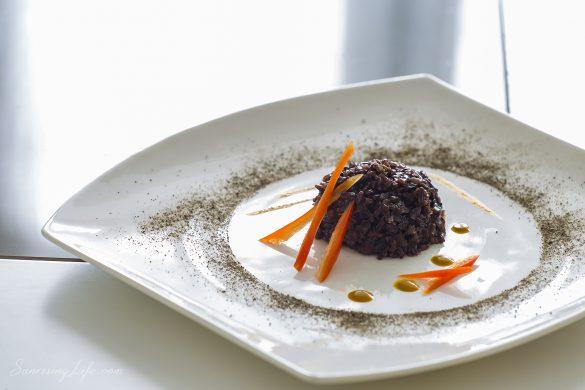 черен ориз, рецепта