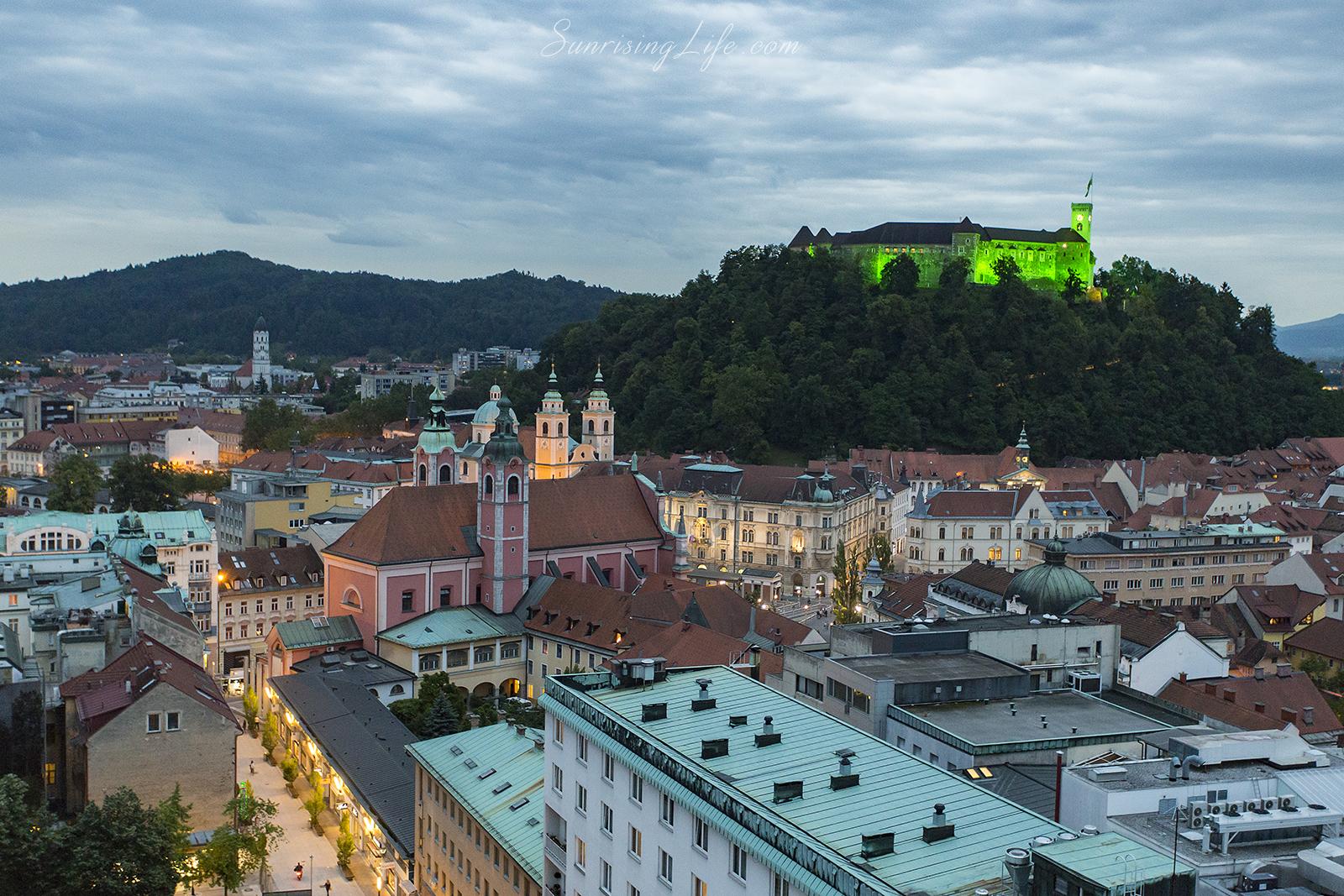 Забележителности в Любляна, Замъкът в Любляна