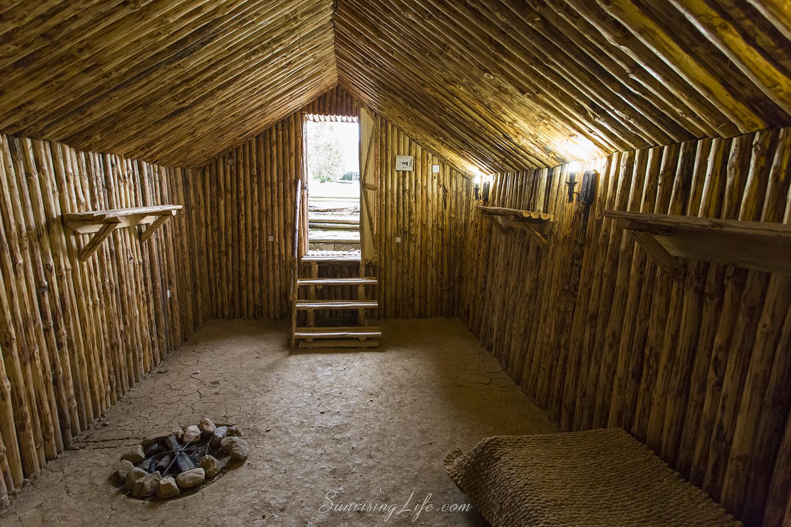 Стая в двора на Самуиловата крепост