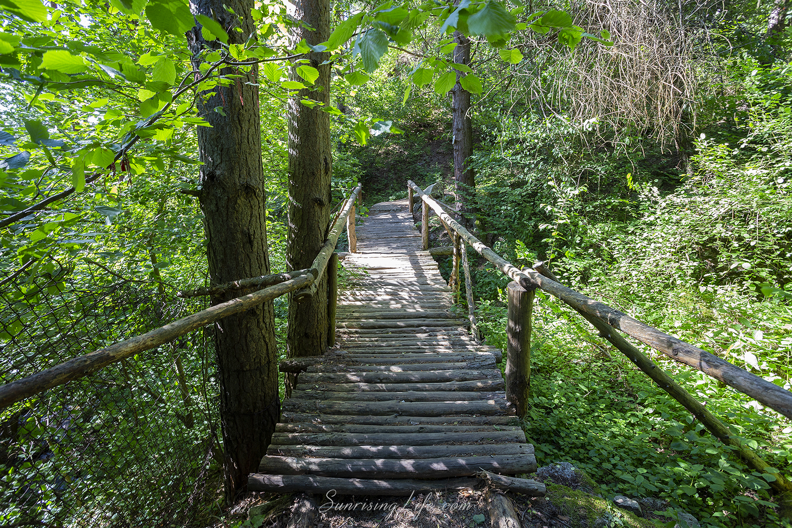 мостчето преди водопад горица