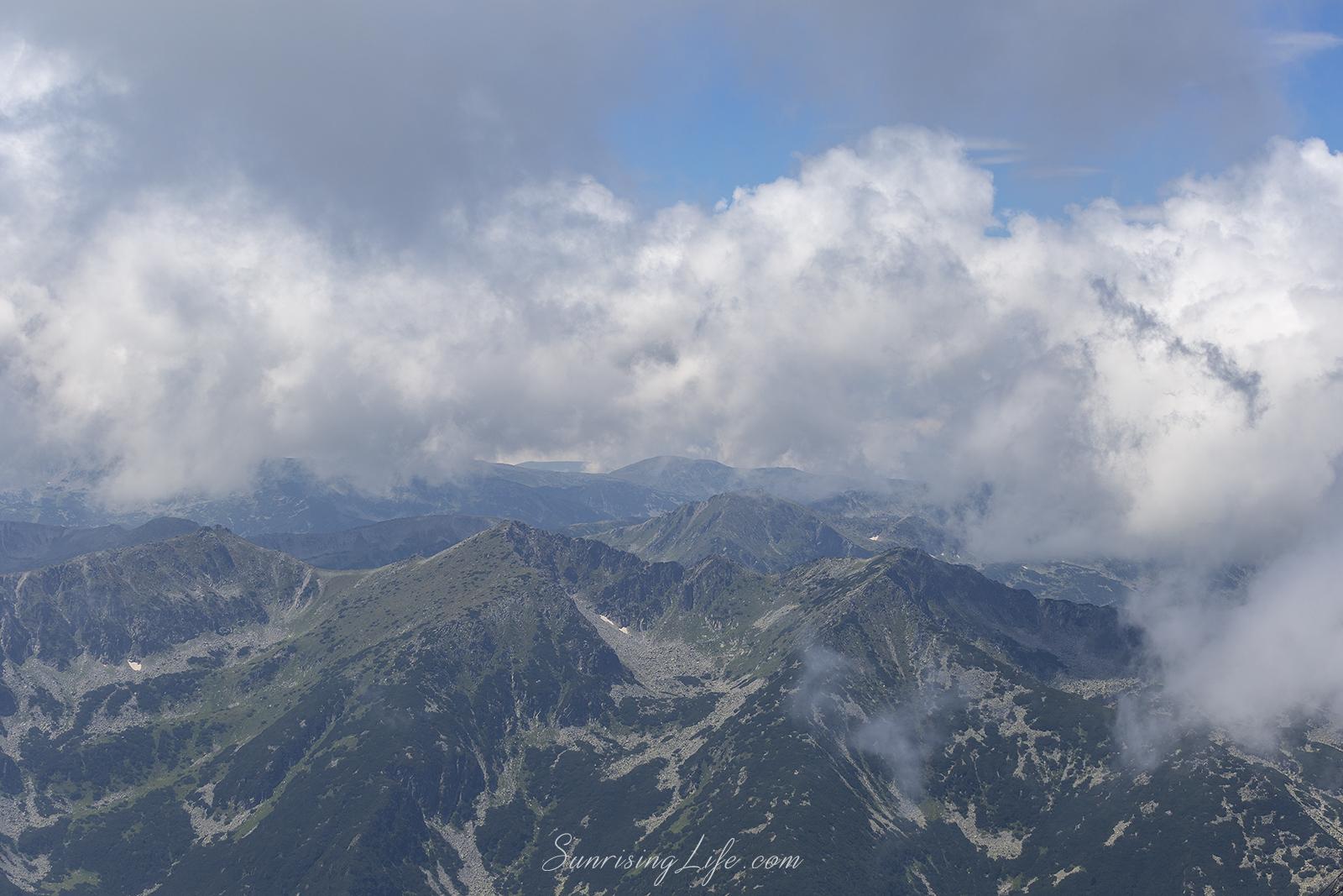 гледка от връх мусала