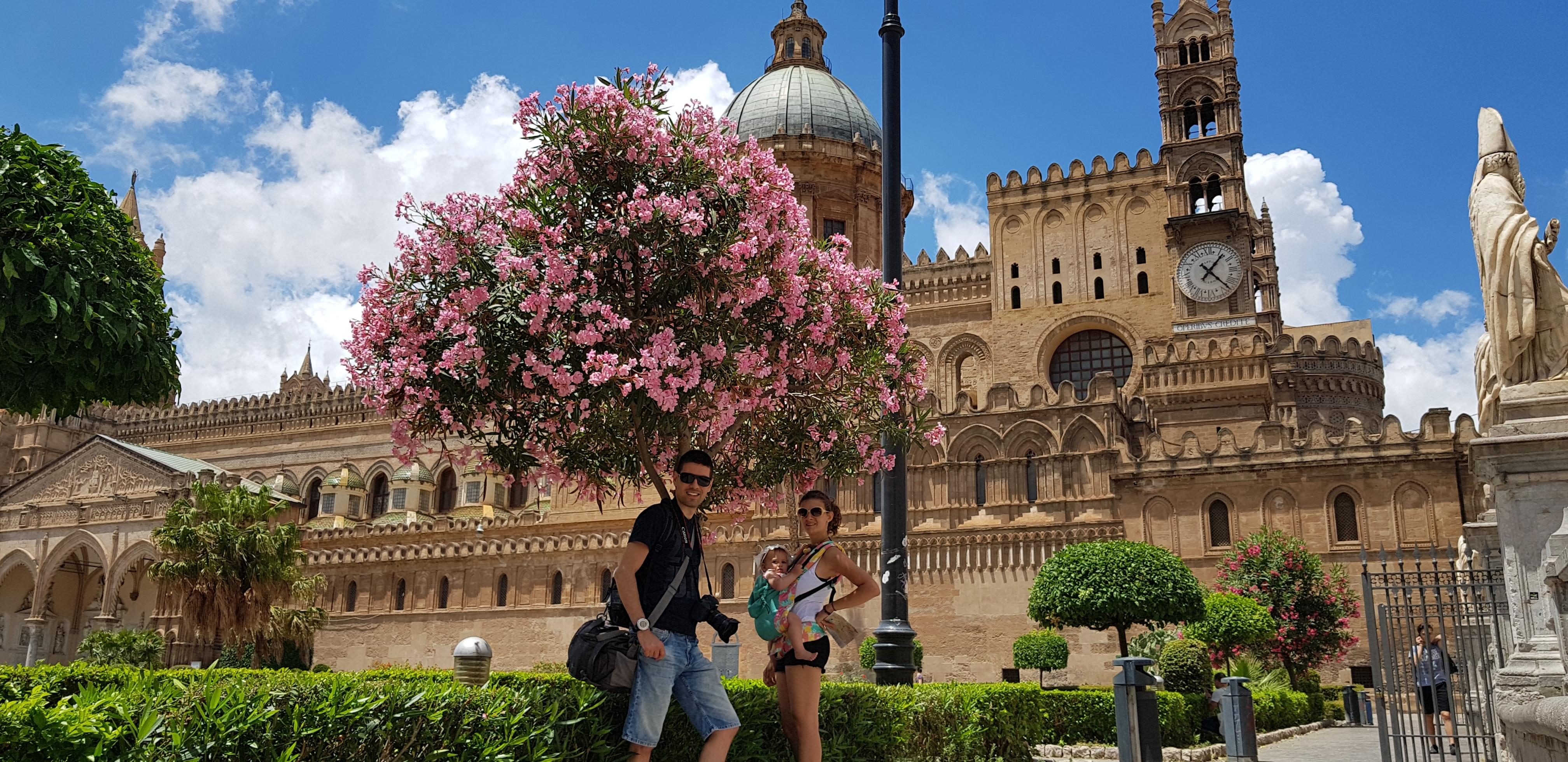 Забележителности в Сицилия - катедралата в Палермо