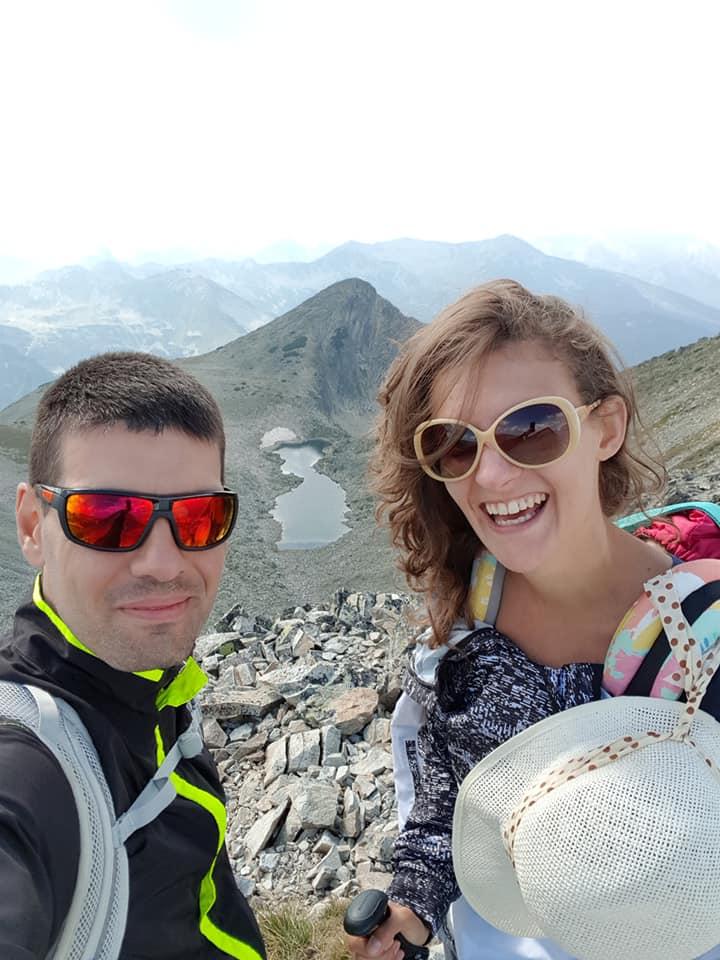 гледка към дамата с кока близо до връх полежан