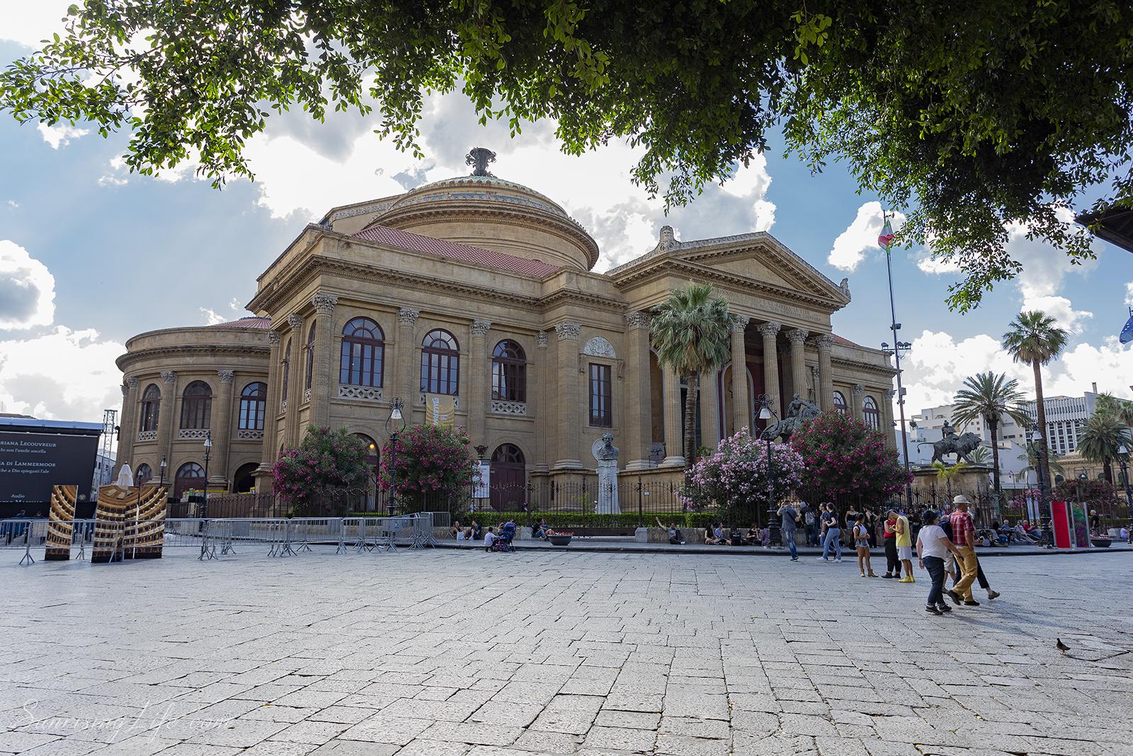 Театро Масимо в Палермо