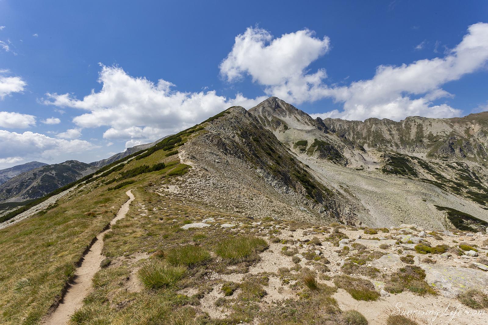 изкачване на връх полежан