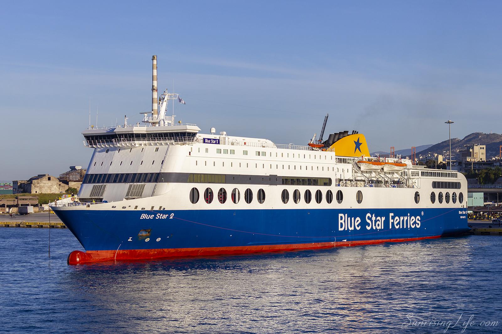 Забележителности в Санторини, Фериботът от Атина до Санторини