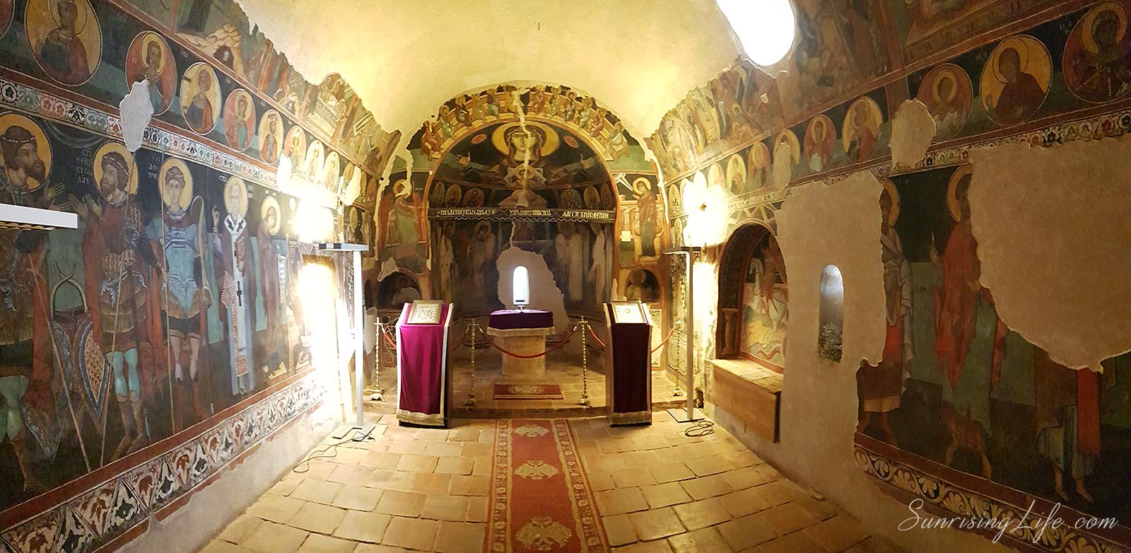 кремиковски манастир на половин час от София