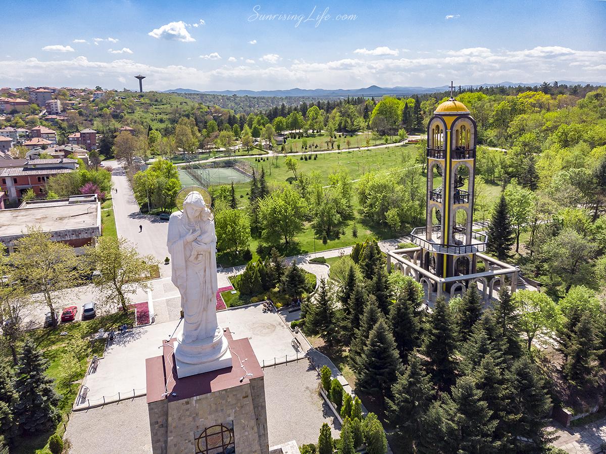 Статуята на Богородица в Хасково - забележителности в Източни Родопи