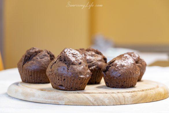мъфини с брашно от лимец -лимецови мъфини с рожков