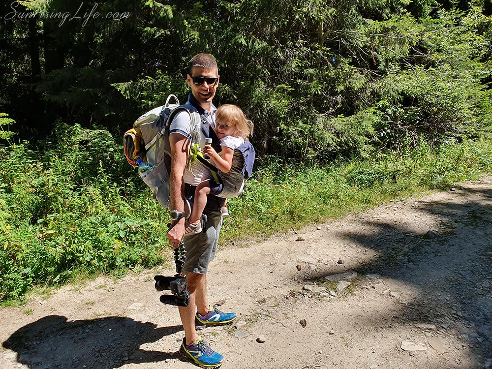 с деца на планинa - водопад Рилска Скакавица