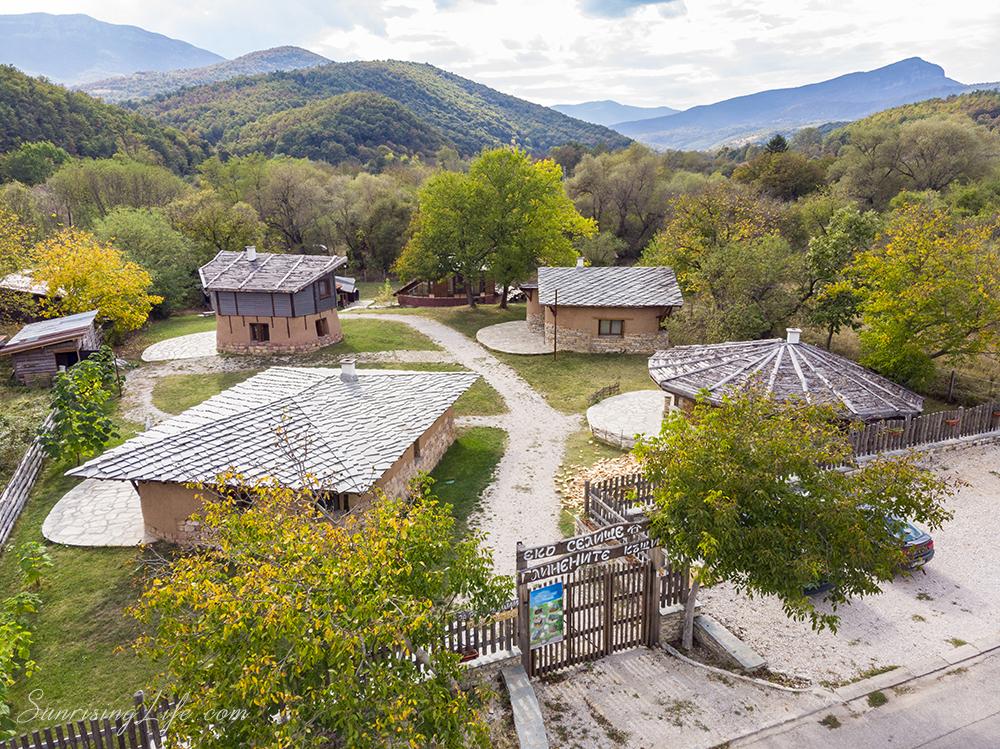 Белоградчишката крепост и Белоградчишките скали, екоселище Глинените къщи