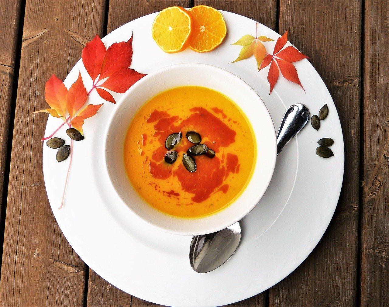 тиква - крем супа от тиква