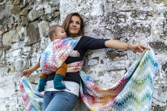 бебеносене, кенгуру или раница за носене на бебе