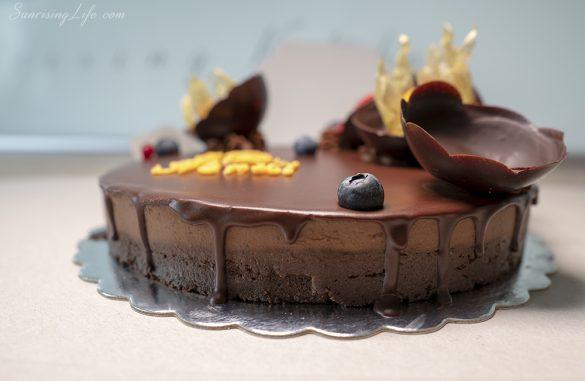 здравословна торта, сурова торта rawlly