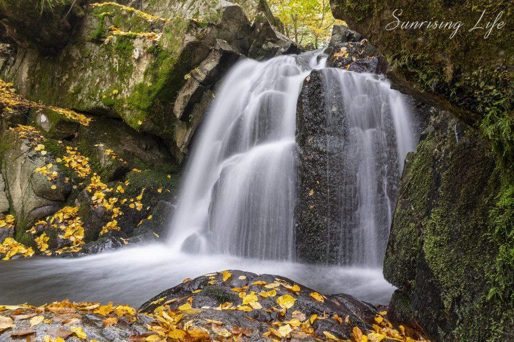 заноженски водопад, водопад заножене, забележителности край вършец