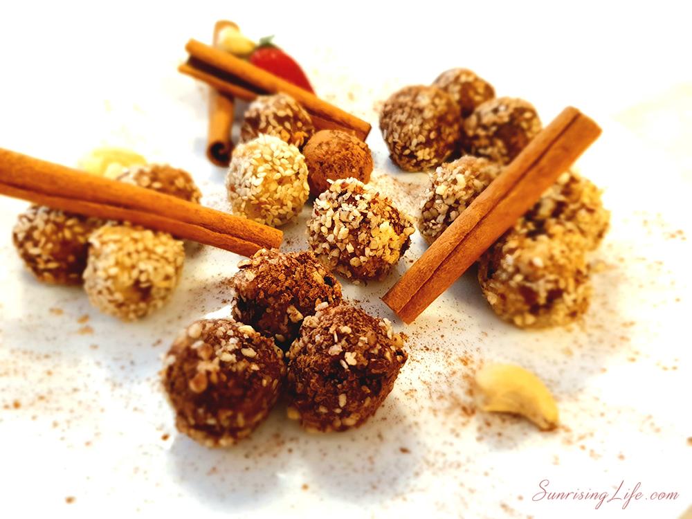 сурови бонбони с кашу, сурови бонбони с фурми, рецепта за сурови бонбони