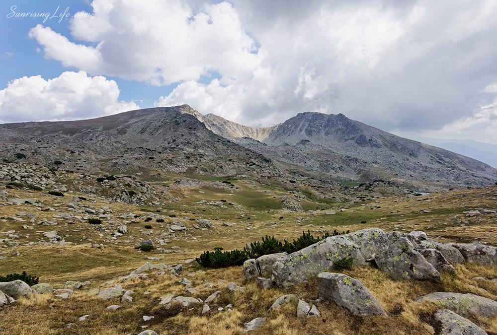 Гледка от Спано поле, маршрут към Синаница