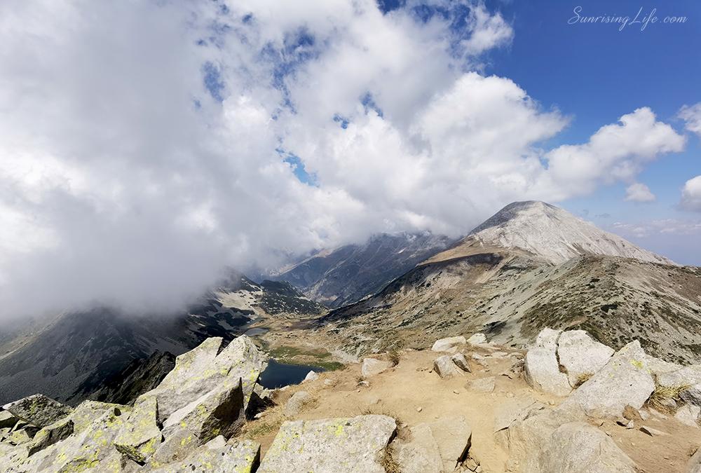 Връх Вихрен погледнат от Муратов връх