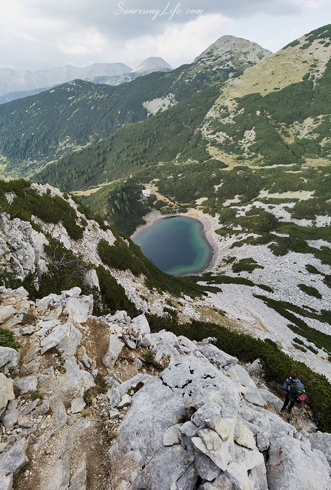 Синанишко езеро, маршрути в Пирин